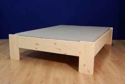 2-persoonsbed Harm A+A (2,8cm dik hout)