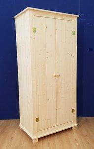 2-deurkast COUNTRY 86cm breed
